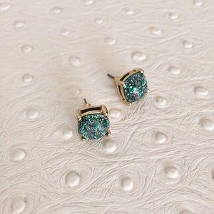 Jewelry - Aqua Glitter Studs